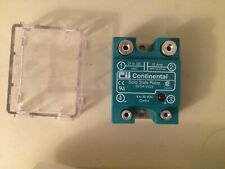 Continental Industries Solid State RelaySVDA/3V25, LED,Finger Touch Protection