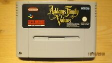 Addams Family Values for SNES Super Nintendo. Cart Only. Pal.