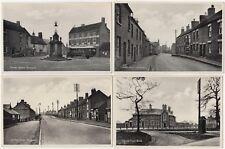 Tamworth, Staffordshire: Set of 6 Printed Postcards of Mile Oak/Two Gates + Env.
