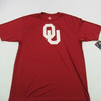 University of Oklahoma NCAA Shirt Sleeve Shirt College XL Colosseum NWT Red
