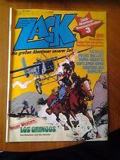 Zack Nr. 12 . Die großen Abenteuer unser Zeit Comic 1979