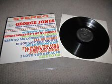 GEORGE JONES - SINGS COUNTRY AND WESTERN HITS - MERCURY RECORDS STEREO LP