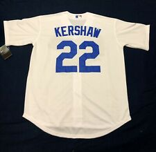 Clayton Kershaw #22 Los Angeles Dodgers White Fan Stadium Jersey - Mens XL