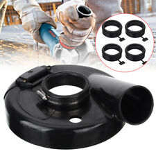 "7"" Angle Hand Grind Vacuum Dust Cover Shroud Grinder Polisher Positioning Ring"