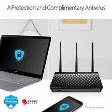 ASUS RT-AC66U Dual-Band 3 x 3 AC1750 Wi-Fi 4-Port Gigabit Router