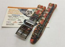 Cinturino in plastica Swatch tema web originale attacco 17mm