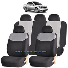 GRAY ELEGANT AIRBAG COMPATIBLE SEAT COVER for MITSUBISHI LANCER GALANT