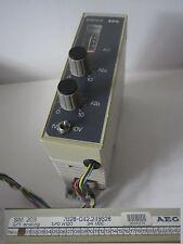 AEG Modicon Schneider electric SPS A120 Analog Simulator SIM203  SIM 203