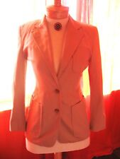 RALPH LAUREN  Safari Jacket Beige With Pockets Lined Size 6 Made in PHILIPPINES