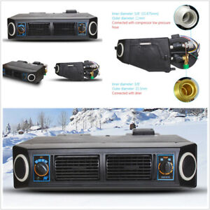 404 Single Cooling Type 3 Air Flow Speed 24V Car AC Air Conditioner Evaporator