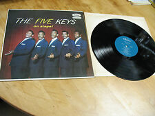 THE  FIVE KEYS  ON  STAGE  T -828 MONO ORIG. 1957   not air brushed  VG+  EX