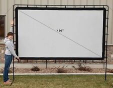 "BRAND NEW Camp Chef OS120LC Curved portable movie screen 120"" INDOOR/OUTDOOR"