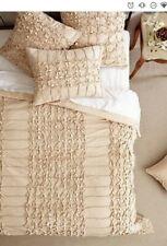 Anthropologie Tan Thayet Quilt/ Comforter + (1) Euro Sham (Size: Queen) $428