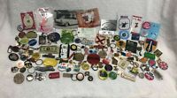 Large Junk Drawer Lot Pins Brooches Keychains