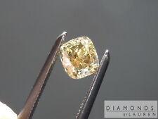 .50ct Fancy Deep Orange Brown VS1 Cushion Cut Diamond R7617 Diamonds By Lauren
