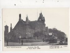 Old Handsworth Tramcar At Town Hall c 1905 Repro Postcard 855a