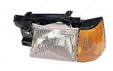 DEPO Auto Parts 3301106LUSC Headlight Assembly 1985-1990 Ford Escort