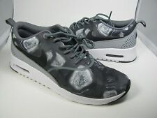sz 6 fits 5-5.5 NEW NIKE Air Max sneakers Thea Print Size Women's Grey/White