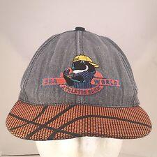 Vtg Sea World Shamu Athletic Dept. Snapback Basketball Brim Juvenile Hat USA