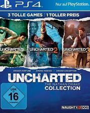 Playstation 4 UNCHARTED 1 + 2 + 3 The Nathan Drake COLLECTION NEU