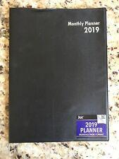 2019 Planner Monthly Page Format Calendar Jot NEW Organize Your School Schedule!