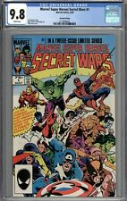 Marvel Super Heroes Secret Wars #1 CGC 9.8 NM/MT 2nd Print Variant WHITE PAGES