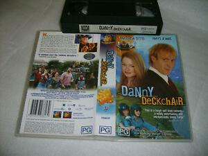 DANNY DECKCHAIR - FOX Release - Miranda Otto / Rhys Ifans Comedy Romance on VHS!