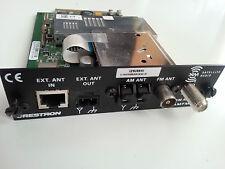 CRESTRON ADAGIO ATC-AMFMXMD AMFMXM AM FM XM Radio TUNER AES AMS ADMS AIP B