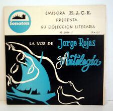 """LA VOZ DE JORGE ROJAS. Antología"" - Emisora H.J.C.K. Poetry"