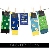 Fun Novelty Odd Socks 17 Unique Designs - Perfect Gift Idea - Combed Cotton