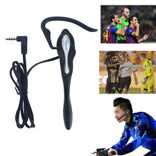 Mic/Earhook Football Referee Judge Earphone for V6 1200M BT Interphone Intercom