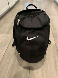 Nike Nike All Access Large Sports Athletic Gym Soccer Basketball Backpack Black