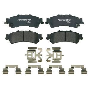 Rr Semi Metallic Brake Pads  Perfect Stop  PS792AM