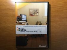 MICROSOFT OFFICE 2003 CD FOR WINDOWS STUDENT EDITION WITH PRODUCT KEY