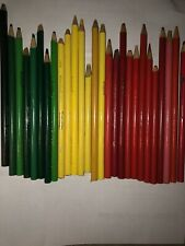 Lot Of  Used Colored Pencils Mostly Crayola