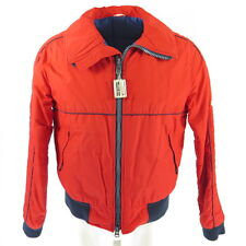 Vintage 80s CB Sports Ski Jacket Mens L Retro Red Puffy Telluride Insulated