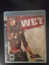Wet ps3 complete (Sony PlayStation 3, 2009)