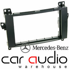 CT24MB16 Mercedes Benz Viano 2007 On Car Stereo Double Din Facia Fascia Plate