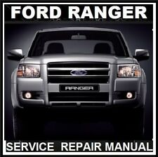 FORD RANGER PJ PK  2006 2007 2008 2009  2010 XL XLT WORKSHOP SERVICE MANUAL