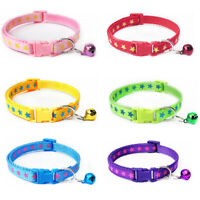 Printing Dog Pet Accessories Cat Dog Puppy Buckle With Bell Lovely Adjustable HT