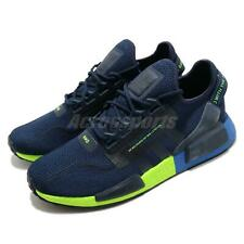 adidas Originals NMD_R1.V2 BOOST Navy Signal Green Blue Men Shoes Sneaker FX3948