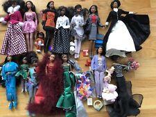 HUGE Barbie Doll Lot African American 1990