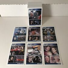 STAR TREK THE COMPLETE NEXT GENERATION Series 1 (2011) Complete Card Set TNG