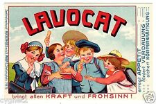 POSTCARD AUSTRIAN LAVOCAT BISCUIT ADVERTISING