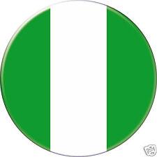 NIGÉRIA NIGERIA DRAPEAU FLAG PAYS COUNTRY Ø25MM PIN BADGE BUTTON