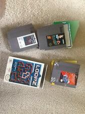 NINTENDO NES 3 GAMES ICE CLIMBER, LOOPZ, AND JOUST LOT GOOD