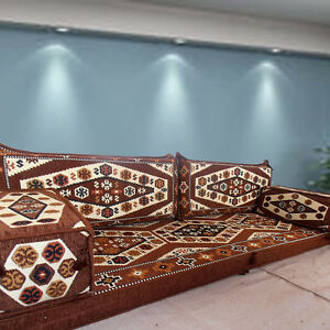 Oriental furniture,floor level sofa,patio furniture,floor cushions / SHI_FS229