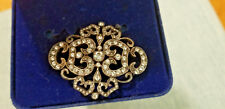 Camrose & Kross Double C Brooch Jacqueline Kennedy collection