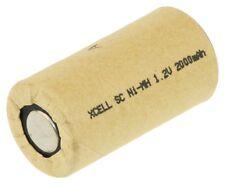 XCell Einzelzelle Sub-C Ni-MH 1,2V / 2000mAh HP43SC2000P, Pappmantel