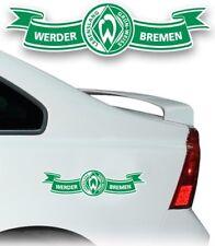 AUTO AUFKLEBER STICKER SV WERDER BREMEN Banderole mittel UVP 7,95€ NEU